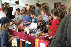 Bild - Herbstmarkt in der Schule Oeversee